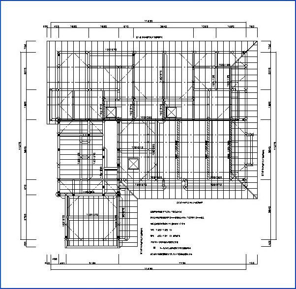 2階床伏図